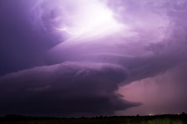 Måske er fremtiden fuld af heftige storme, som menneskerne må beskytte sig imod?